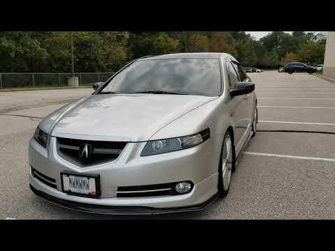 """Walk/talk Around 2007 Acura Tl Type S, Aspec,lowered H&r,19""""ronjon Inspyre,5%tint,sti Splitters"""