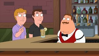 Joe can only do Rum And Coke - Family Guy