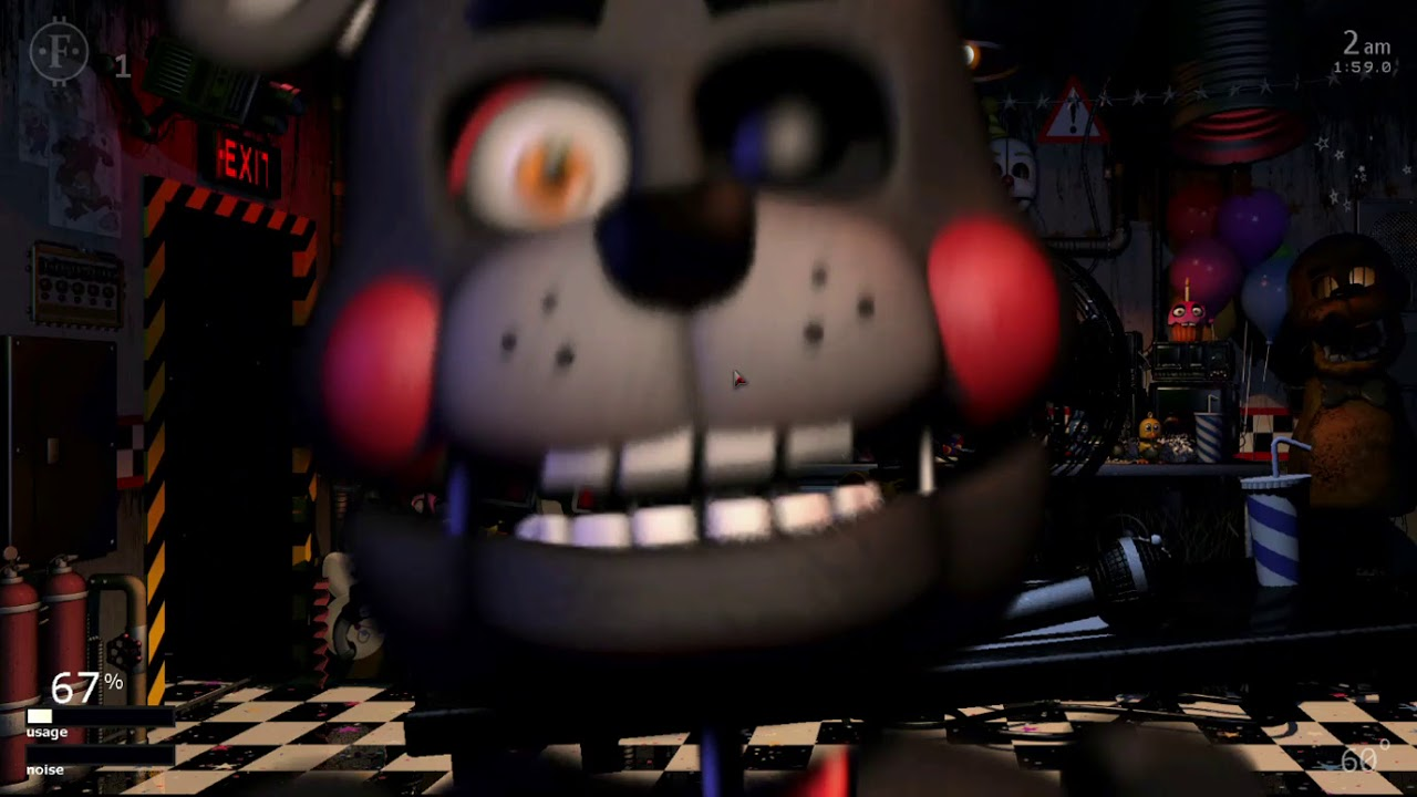 Lefty Jumpscare (Ultimate Custom Night)