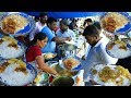 Cheapest Hyderabad Roadside Unlimited Meals | #Streetfood