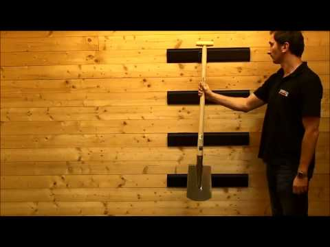 doppelwandhaken ger tehalter 18 x 6 5 cm gartenger te von powerplustools youtube. Black Bedroom Furniture Sets. Home Design Ideas