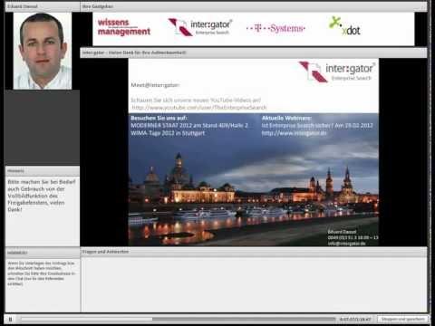 Themenwebinar: Enterprise Search - auf kürzeren Wegen zum Ziel