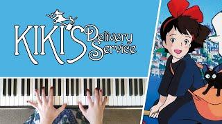 Kiki's Delivery Service - Main Theme || PIANO COVER