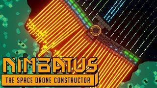 Nimbatus Gameplay German - Space Drones bauen ist SCHWER