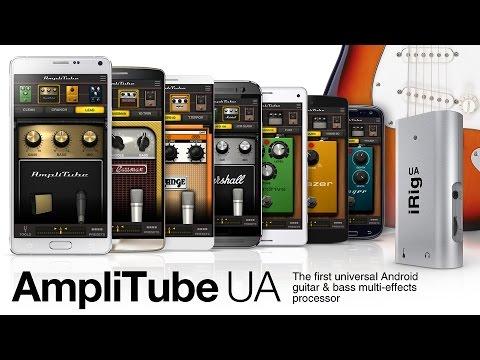 AmpliTube UA For Android - Trailer