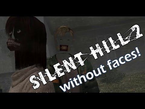 Silent Hill 2 with faces removed