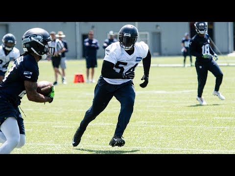 Seahawks First Day of OTAs otas