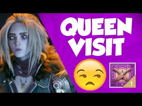 Destiny 2 - Queen Visit - Mara Sov Throne World Visit 2.19.19 thumbnail