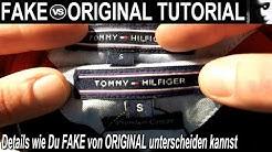 """Fake vs Original """"The Tommy Hilfiger Tutorial"""" German/Deutsch"""