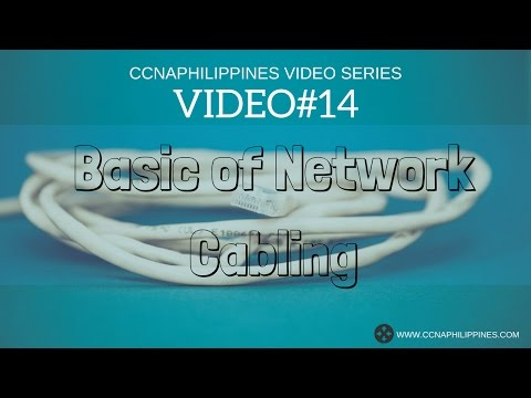 Video#14   Basic of Network Cabling