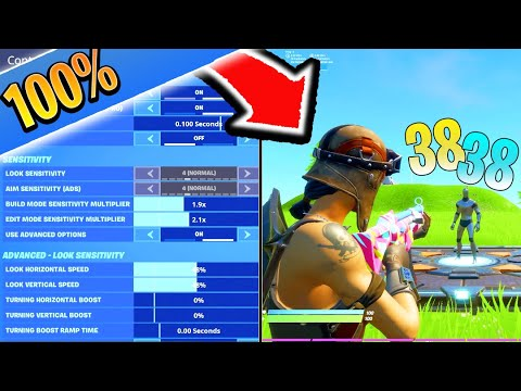 CHANGE This SETTING For PERFECT AIM! BEST Fortnite Settings PS4/XBOX! (Fortnite BEST Settings)