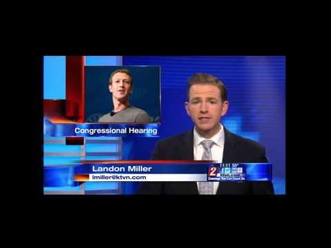 Channel 2 Reno: Heller Puts Zuckerberg on the Hot Seat