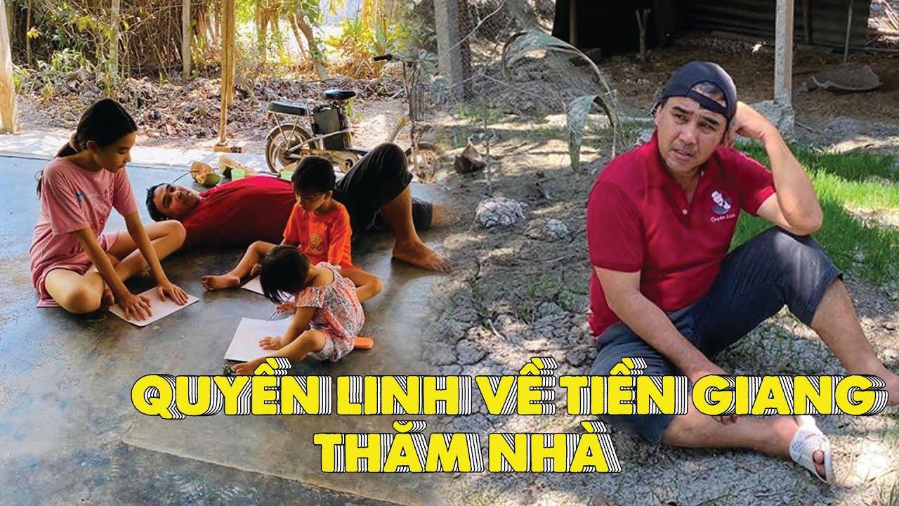 THĂM NHÀ QUYỀN LINH rộng THÊNH THANG tại Tiền Giang, CHOÁNG VÁNG đi cầu khỉ cùng 'NHÀ GÀ'