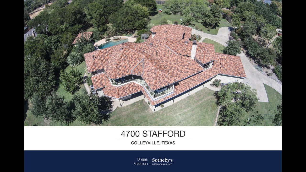 Exquisite Custom Home At 4700 Stafford | Colleyville, TX