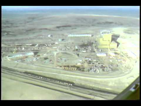 1979 Aerials Of Coyote Station Under Construction And Beulah