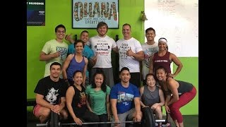 California. Weightlifting seminar in CrossFit Diligence (eng sub)