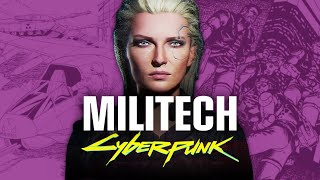 The History Of Militech, The Biggest Weapons Corp In The World | Cyberpunk 2077 Lore
