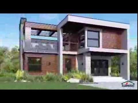 Maisons laprise lap0532 youtube for Maison laprise