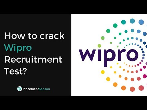 How to crack Wipro Recruitment Test? - Problem solving & Tips - YouTube