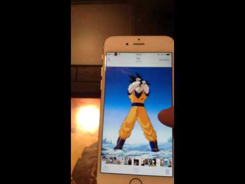 live wallpaper goku iphone 6 youtube