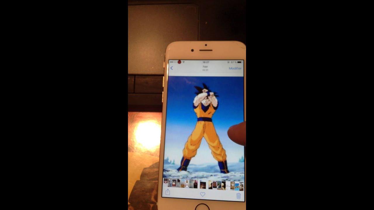 Live Wallpaper Goku Iphone 6