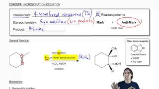 General properties of hydroboration oxidation