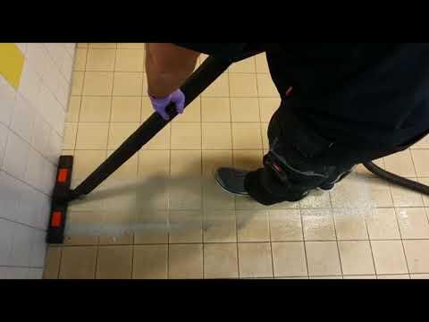 Diepte - en Stoomreiniging Antislip vloer