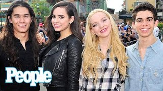 Disney Descendants: Sofia Carson Dishes On Dove Cameron Dating Thomas Doherty | People NOW | People