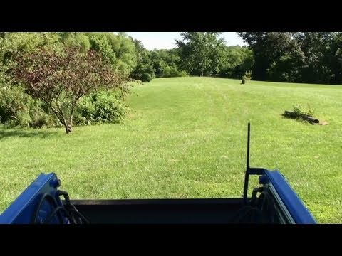 Tractor Drive - Clearing Brush - Shooting Range Site