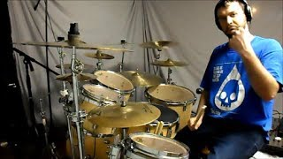 ANNIHILATOR - Set the World on Fire - drum cover