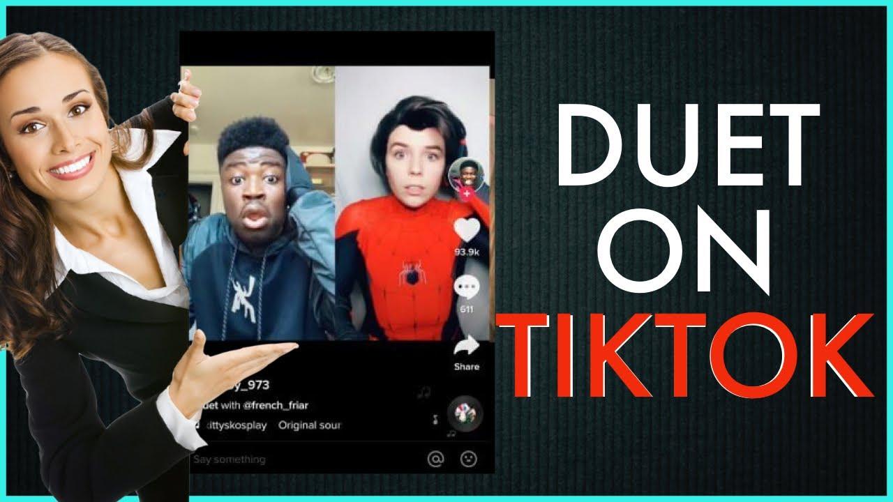 Tiktok Tutorials How To Make Tiktok Duet Video Youtube