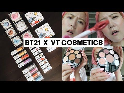 BTS: BT21 x VT Cosmetics Review (London & NYC Meet & Greet) | Q2HAN
