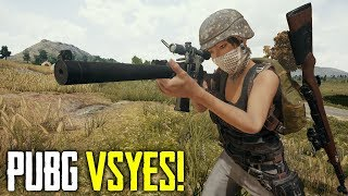 VSS? More Like VS-YES! (Playerunknown's Battlegrounds)