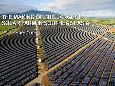 The Making of the Largest Solar Farm in Southeast Asia