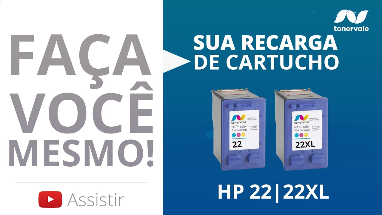 Recarga Cartucho De Tinta HP 22 22XL