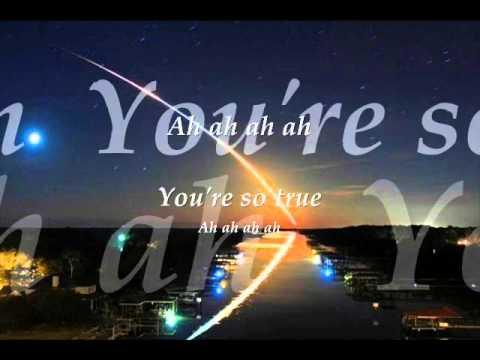 Joseph Arthur - You're so true(lyrics)