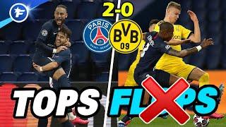 Marquinhos et Kimpembe éteignent Haaland | Les tops et les flops de PSG - Borussia Dortmund