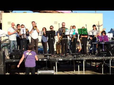 Eagle Rock Music Festival 2014, Eagle Rock Jazz Band, Fiesta de la comunidad