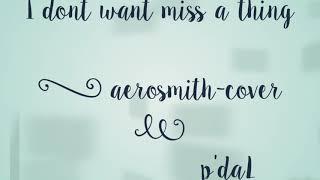 Aerosmith - I dont wanna miss a thing [cover]