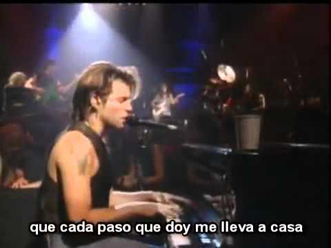 Bed Of Roses Bon Jovi Subtitulado Subtítulos Español Naominolasca Youtube