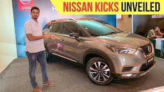 All New Nissan Kicks 2018 SUV Unveiled in India, Launch Soon