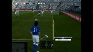 Pro evolution soccer 2013 gameplay PC