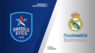 Anadolu Efes Istanbul- Real Madrid Highlights | Turkish Airlines EuroLeague, RS Round 4