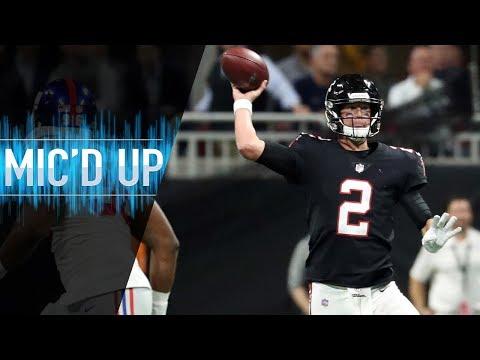 "Matt Ryan Mic'd Up vs. Giants ""I would've punted that away"" | NFL Films"