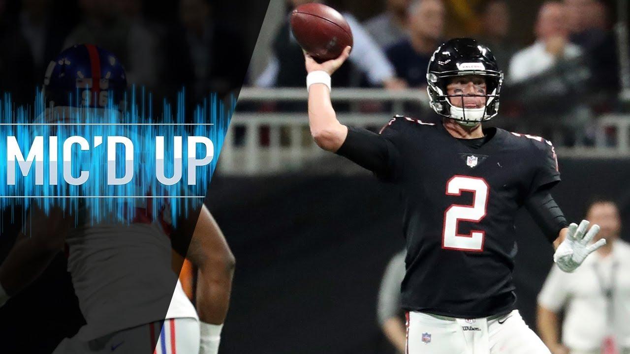 "Matt Ryan Mic'd Up vs. Giants ""I Would've Punted That Away | NFL Films"