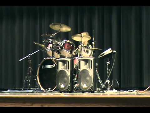Logan's Drum Solo from the Upper Allen Elementary School Variety Show 2012