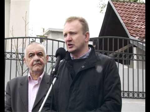 Dragan Đilas, Dragan Šutanovac i Božidar Đelić u obilasku Mirijeva