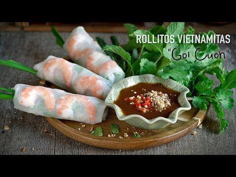 Rollitos Vietnamitas (Goi Cuon)