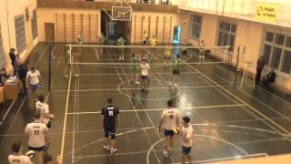 Волейбол. Студенческая Суперлига (муж) МАДИ-МСХА (3:0) 05-10-2015