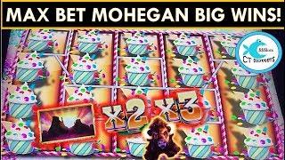 Gambar cover MAX BETTING @ MOHEGAN SUN CASINO! BUFFALO DIAMOND SLOT MACHINE BIG WIN! SUGAR HITS @ $6 BETS!